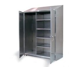 Stainless Steel Broom Closet Cabinet