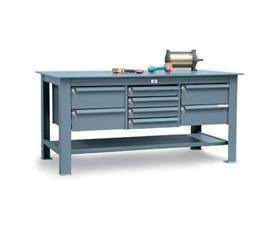 """1/2"""" Steel Plate Top And Key Lock Drawers"""