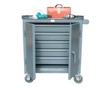 Five Full Width Drawer Tool Cart