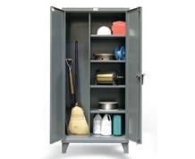 Broom Closet Storage Cabinet