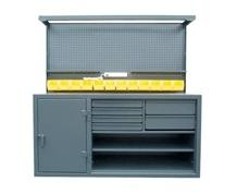 Cabinet Workstation With Accessories