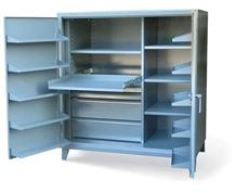 Cabinet with Large Door Pockets