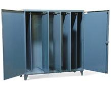 Cabinet with Slide Out Partions
