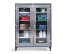 Stainless Steel Clearview Model Storage Cabinet