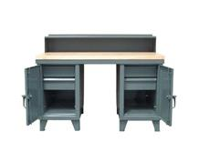Desk/Work Station Combo