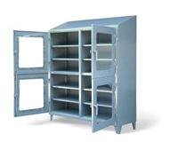 Four Compartment Clearview Cabinet With Shelves
