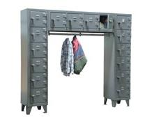 Free-Standing Compartment Locker