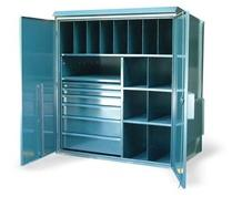 Multi-Compartment Outdoor Cabinet