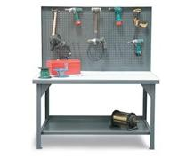 Pegboard Shop Table