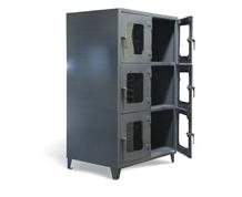 Six Compartment Clearview Cabinet