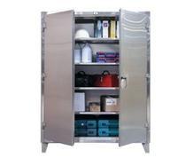 Stainless Steel Floor Model Storage Cabinet