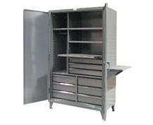 Strong Hold Tool Work Center Storage Cabinet